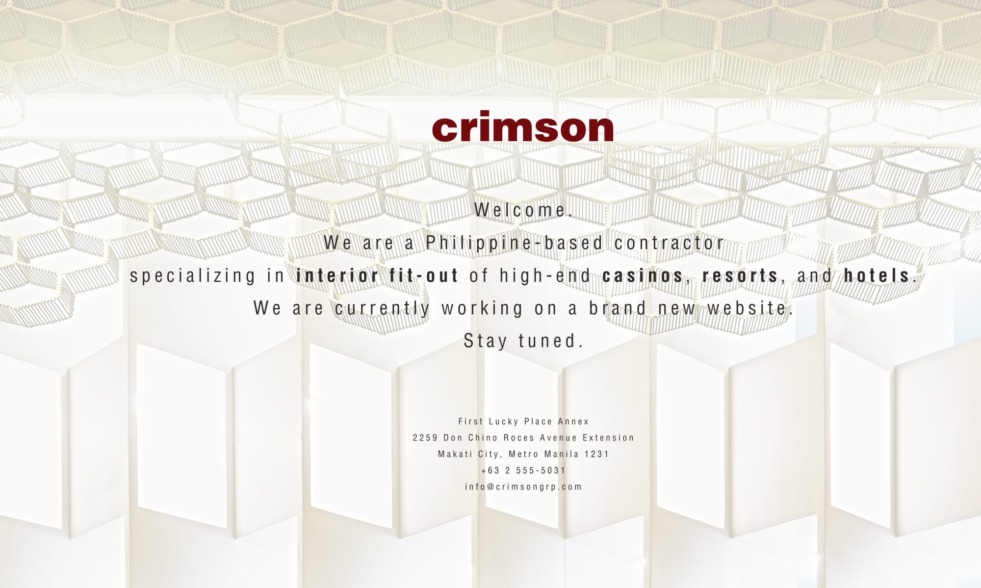 Crimson Group Inc.