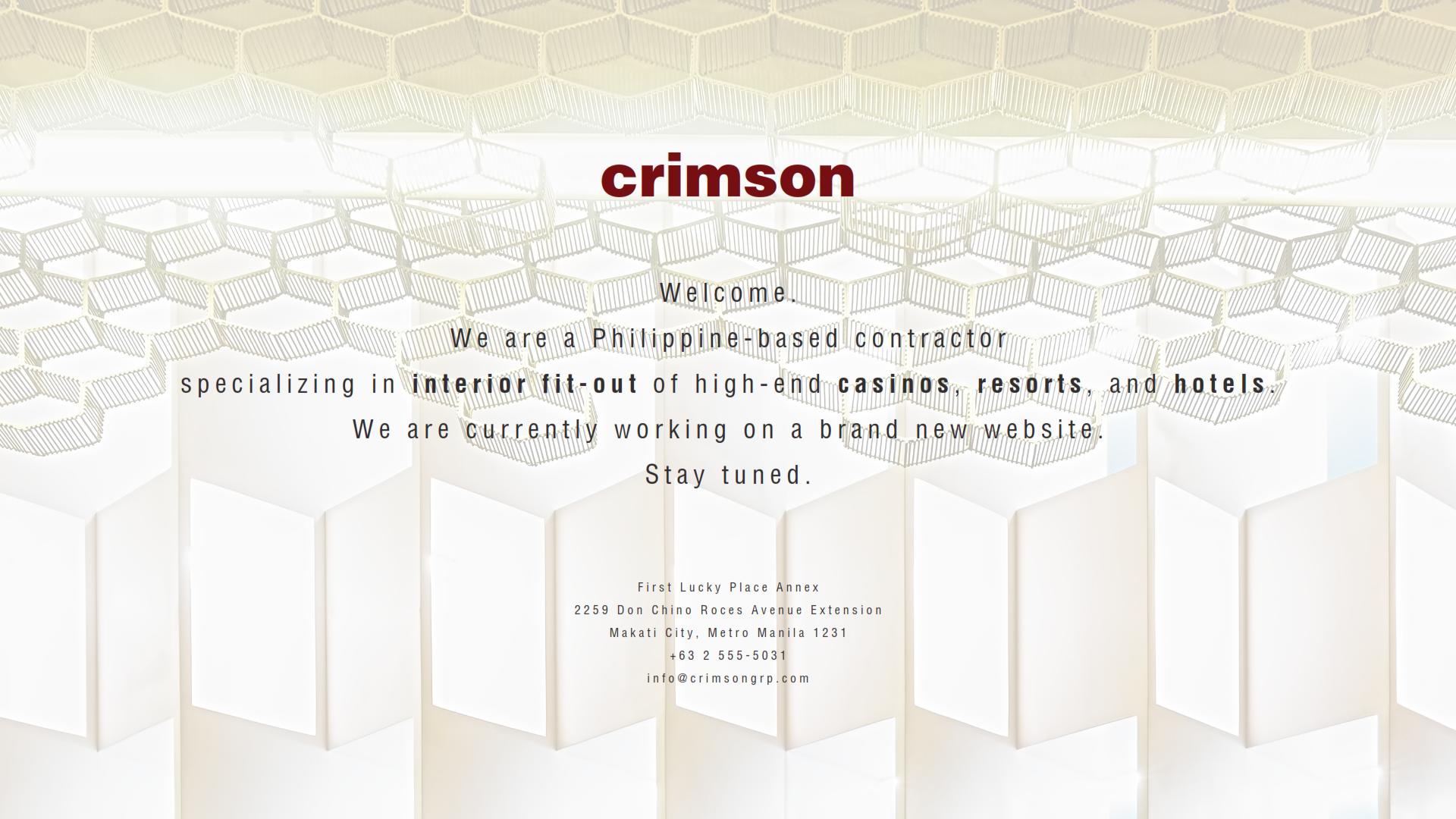 Crimson Group Inc.